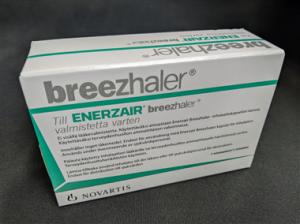 Demoinhalator för Enerzair Breezhaler.