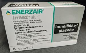 Enerzair Breezhaler demokit inklusive placebokapslar