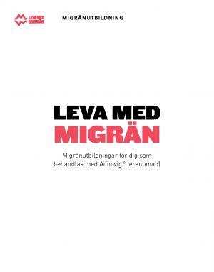 Patientutbildning leva med migrän