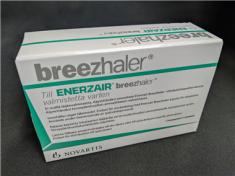 Demoinhalator för Enerzair Breezhaler.