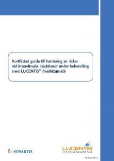 Guide till läkare om användning av Lucentis®