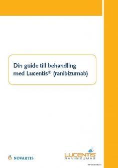 Guide för patienter om Lucentis vid AMD