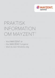 Praktisk produktinformation för patienter.